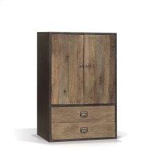 Norita Industrial Cabinet with 2 Doors, 2 Drawers