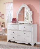 French Style Bedroom Mirror Product Image