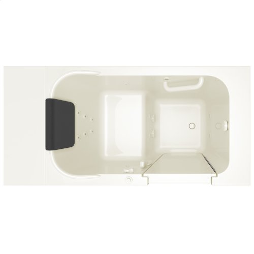 Gelcoat Premium Series 28x48-inch Walk-In Bathtub  Whirlpool Tub  American Standard - Linen