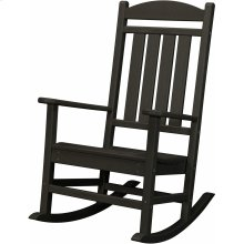 All-Weather Pineapple Cay Porch Rocker - Black