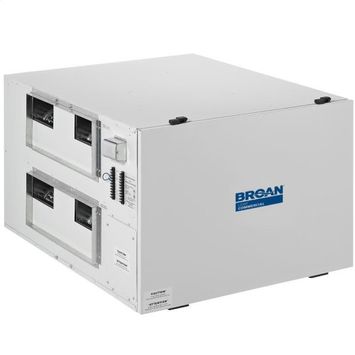 High Efficiency Heat Recovery Ventilator for small businesses, 1170 CFM at 0.4 in. w.g.