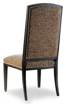 Dining Room Sanctuary Mirage Side Chair-Ebony