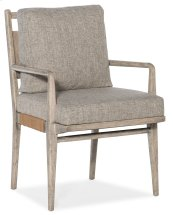 Dining Room Amani Upholstered Arm Chair