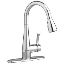 Quince 1-Handle Pull Down 1.5 GPM High-Arc Kitchen Faucet  American Standard - Polished Chrome