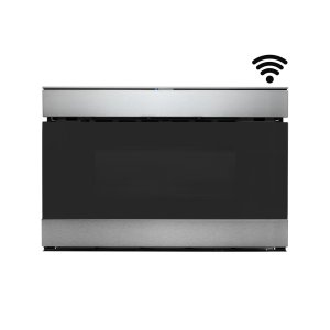 Sharp Appliances24 in. 1.2 cu. ft. 950W Sharp Stainless Steel IoT Easy Wave Open Microwave Drawer Oven
