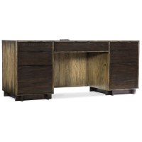 Home Office Crafted Computer Credenza Product Image