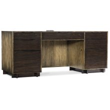 Home Office Crafted Computer Credenza
