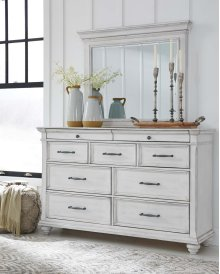 Kanwyn - Whitewash 2 Piece Bedroom Set