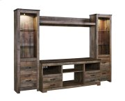 Trinell - Brown 4 Piece Entertainment Set Product Image