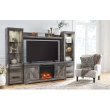 Wynnlow - Gray 5 Piece Entertainment Set