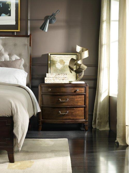 Bedroom Palisade Three Drawer Nightstand