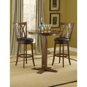 Hillsdale FurnitureDynamic Designs 3pc Pub Set W/ Mansfield Stools