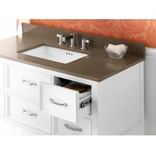 """TechStone™ 43"""" x 22"""" Vanity Top in Grand Green - 3/4"""" Thick"""