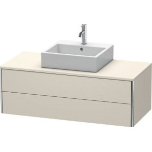 Vanity Unit For Console Wall-mounted, Taupe Matt (decor)