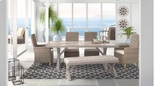 Beachcroft - Beige 6 Piece Patio Set