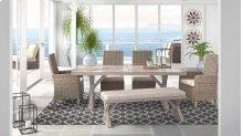 Beachcroft - Beige 6 Piece Patio Set