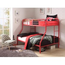 RED T/F BUNKBED KD VERSION