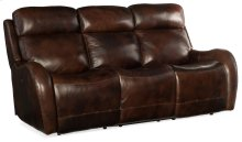 Living Room Chambers Power Recliner Sofa w/ Pwr Headrest