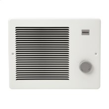 Wall Heater, White, 1000/2000W 240VAC, 750W/1500W 208 VAC.