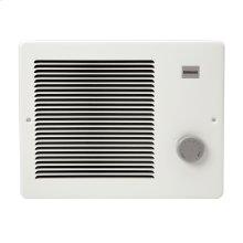 Wall Heater, White, 1000/2000W 240VAC, 750W/1500W 208 VAC.