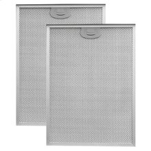 """Aluminum Replacement Grease Filter with Antimicrobial Protection for 36"""" QP3 Series"""