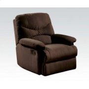 Chocolate Microfiber Recliner Product Image