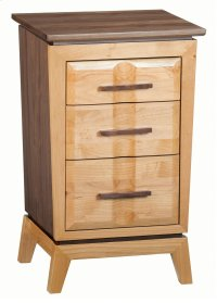 DUET Small 3-Drawer Addison Nightstand Product Image