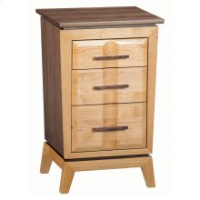 DUET Small 3-Drawer Addison Nightstand