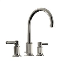 """Widespread Lavatory Set 7"""" in Polished Chrome"""