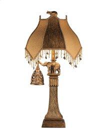 Dillian - Bronze Finish Poly Table Lamp