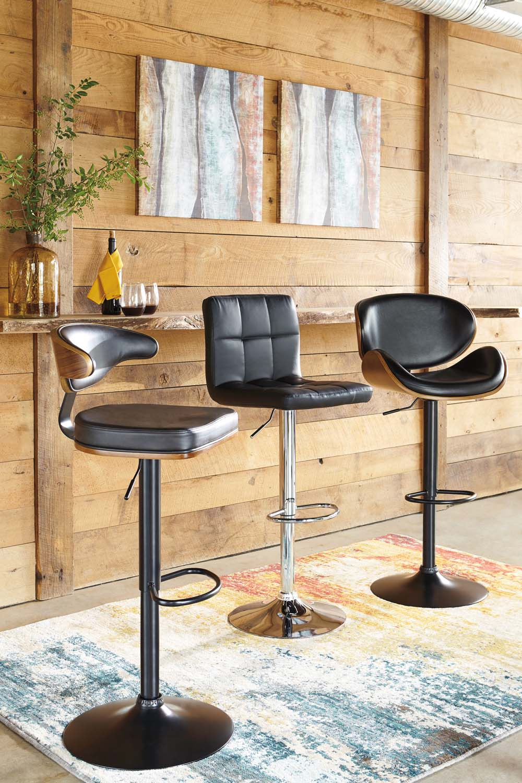 Hidden · Additional Adjustable Height Barstools   Multi Set Of 2 Dining  Room Barstools