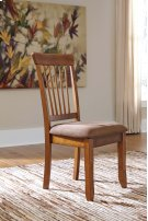 Berringer - Rustic Brown Set Of 2 Dining Room Chairs Product Image