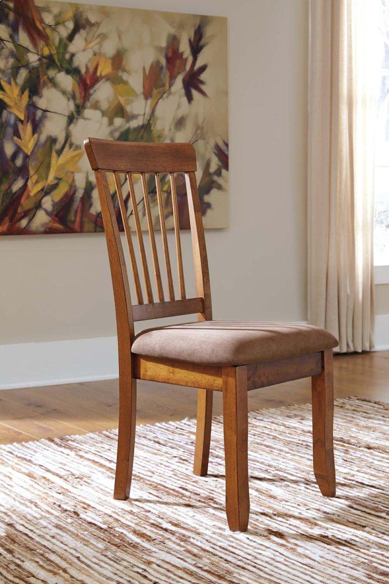 Berringer Rustic Brown Set Of 2 Dining Room Chairs