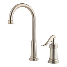 Brushed Nickel 1-Handle Bar & Prep Faucet