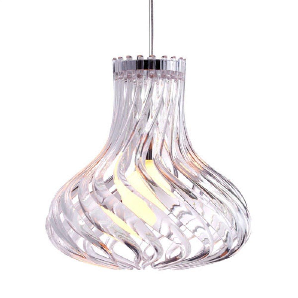 Tsunami Ceiling Lamp Clear