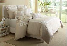 King 10pc Comforter Set Natural