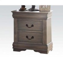Louis Philippe Gray Nightstand