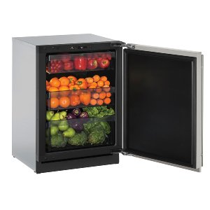 "U-LineModular 3000 Series 24"" Solid Door Refrigerator With Stainless Solid Finish and Field Reversible Door Swing (115 Volts / 60 Hz)"