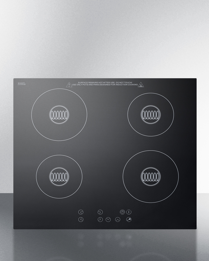 Sinc424220summit Built In 220 Volt Induction Cooktop With
