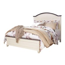 Queen Woodlandville Bed w/rails