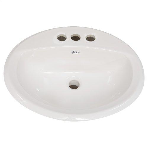 Aqualyn Countertop Bathroom Sink - Linen