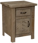 Frontier Enclosed Nightstand - Driftwood Product Image
