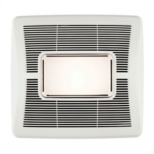 BroanInVent Series Single-Speed Bathroom Exhaust Fan with Light 50 CFM 1.5 Sones
