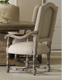 Dining Room Sorella Upholstered Arm Chair