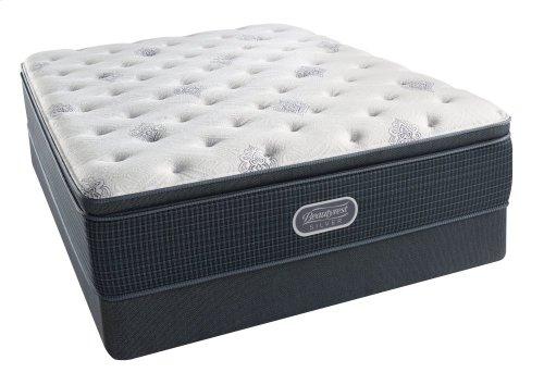 BeautyRest - Silver - Sea Glass - Luxury FIrm - Pillow Top - Twin XL