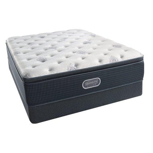 BeautyRest - Silver - Sea Glass - Luxury FIrm - Pillow Top - King