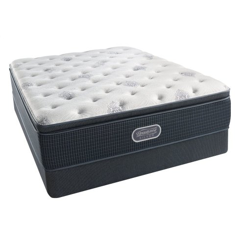 BeautyRest - Silver - Open Seas - Pillow Top - Luxury Firm - Cal King