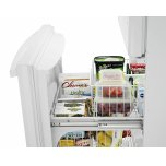 Amana 29-inch Wide Bottom-Freezer Refrigerator with EasyFreezer Pull-Out Drawer -- 18 cu. ft. Capacity - White