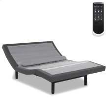 Prodigy 2.0+ Adjustable Bed Base with Lumbar Support, Black Finish, Queen