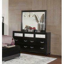 Barzini Seven-drawer Dresser With Metallic Drawer Front